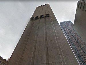Immeuble mystérieux de Manhattan